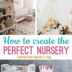 nursery organization collage
