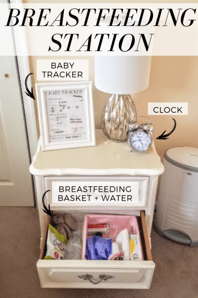 nursery organization breastfeeding station