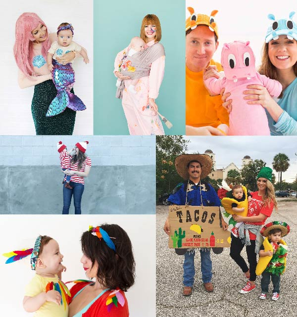 40 Matching Mom and Baby Halloween Costumes