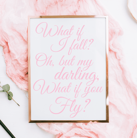 What If I Fall—Free Nursery Printable