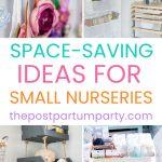small nursery ideas pin image