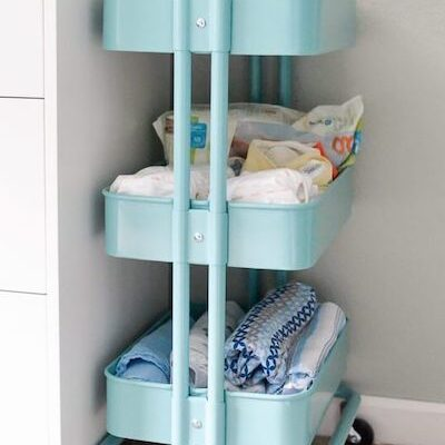 20 Clever Small Nursery Ideas When You're Tight On Space + Free Printable