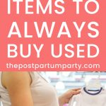 used baby items pin