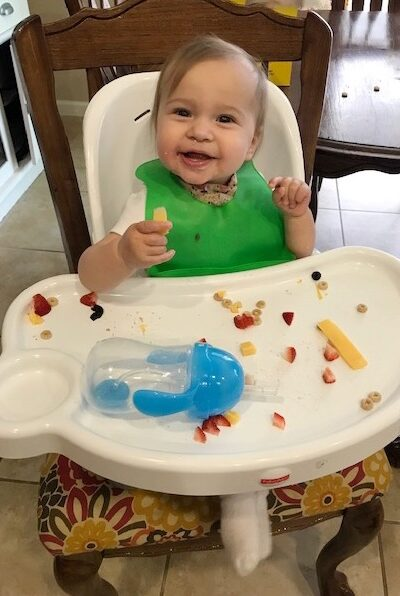 loved baby-led weaning