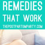 morning sickness remedies pin