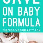 save on baby formula