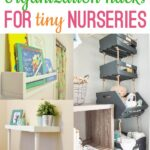 Set up your baby nursery in a small space. With these simple small nursery ideas, you can set up a functional nursery, even if you're tight on space.