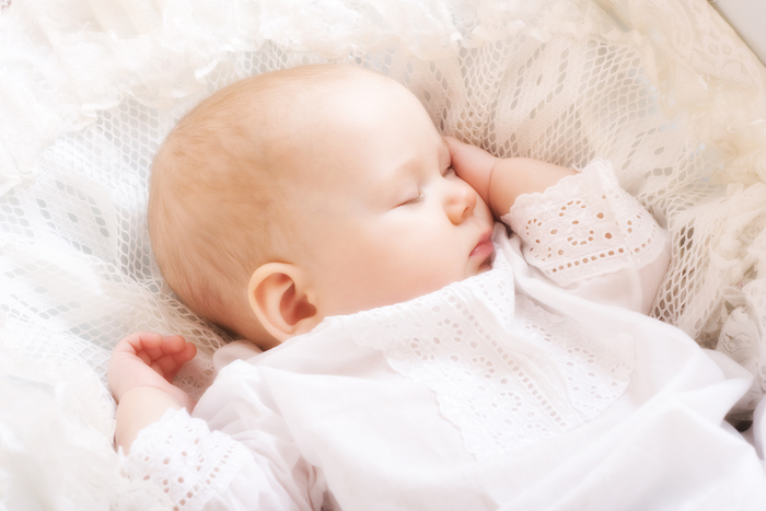 newborn sleeping after fixing day night confusion