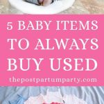 baby items to buy used pin image