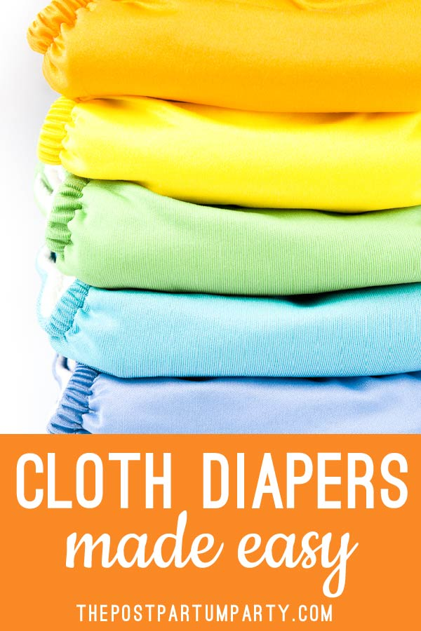 Thinking about using baby cloth diapers? Here's how we cloth diapered our twins, the easy way. And why we think it's a GREAT choice for singles and multiples!