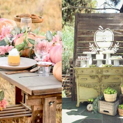 The cutest Fall Baby Shower Ideas