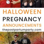 halloween pregnancy announcements pin