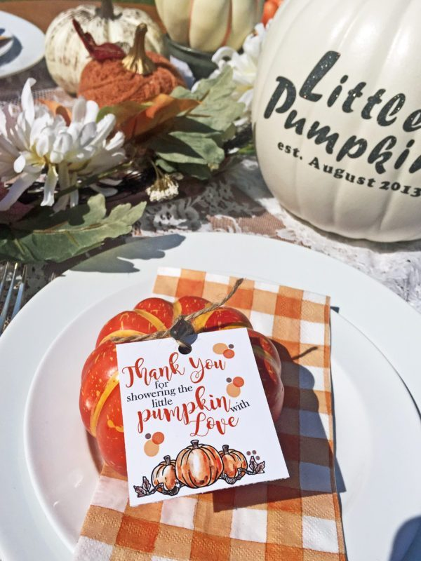 fall baby shower ideas pumpkin theme