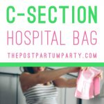 C-Section Hospital Bag Pin