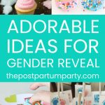 gender reveal ideas pin image