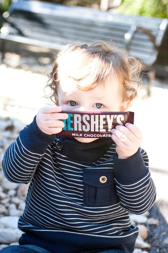 chocolate bar reveal idea