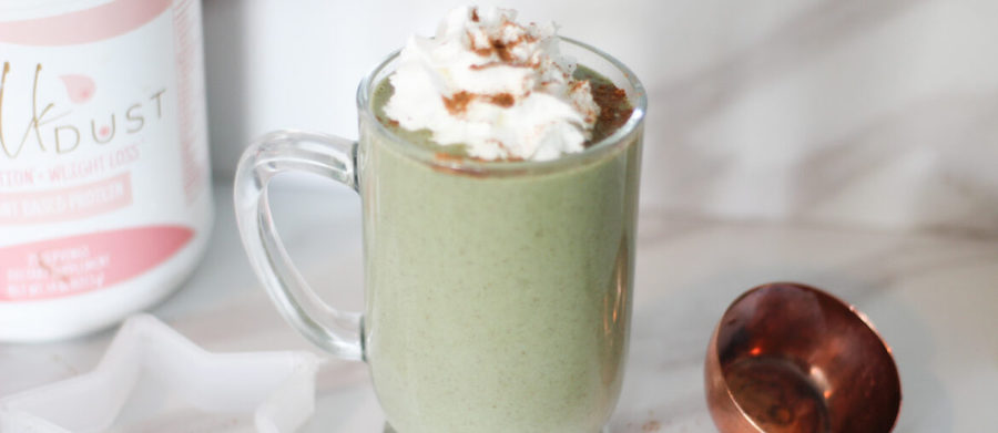gingerbread lactation smoothie