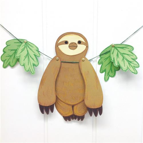 sloth paper template