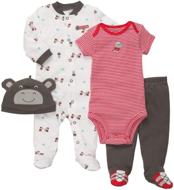 overlooked baby items - baby clothes in bigger sizes