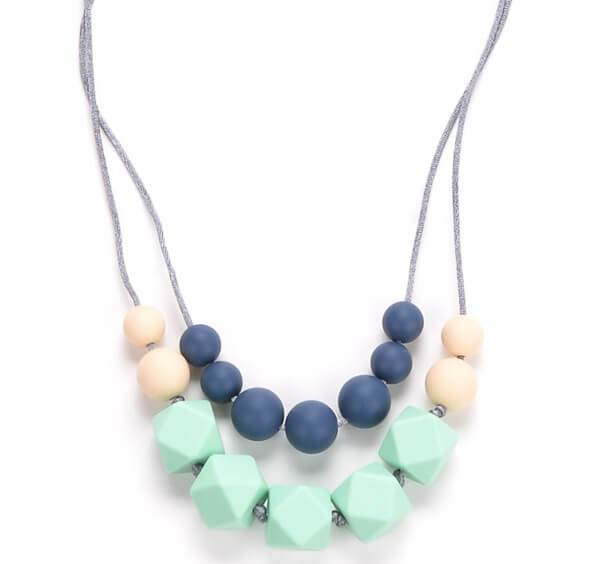 most forgotten baby items - teething necklace