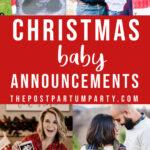 Christmas pregnancy announcements