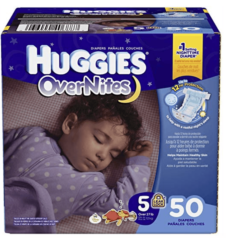 Huggies Overnites - Best Overnight Diaper