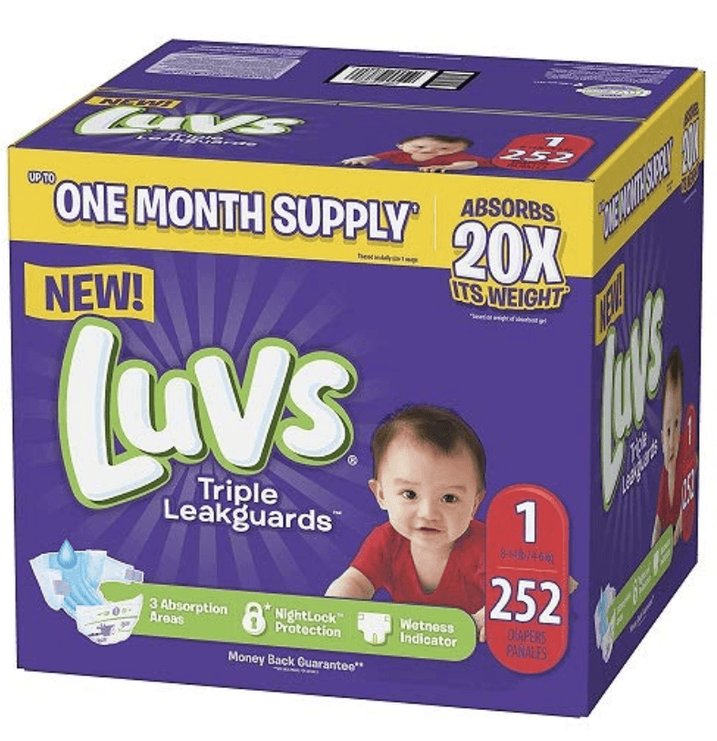 LUVS - Best overnight diapers