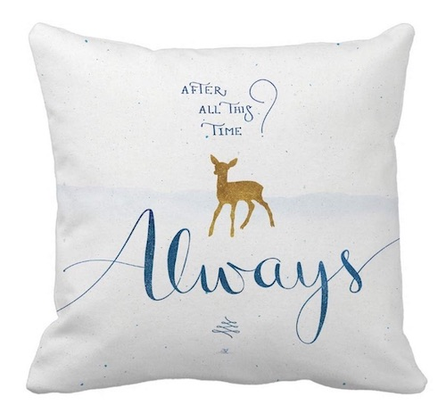 Harry Potter always pillow