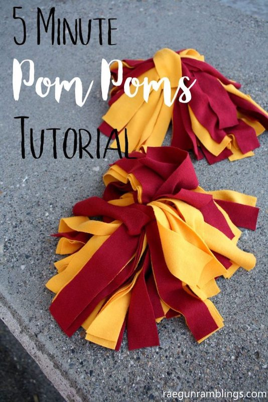 Harry Potter DIY Pom Poms