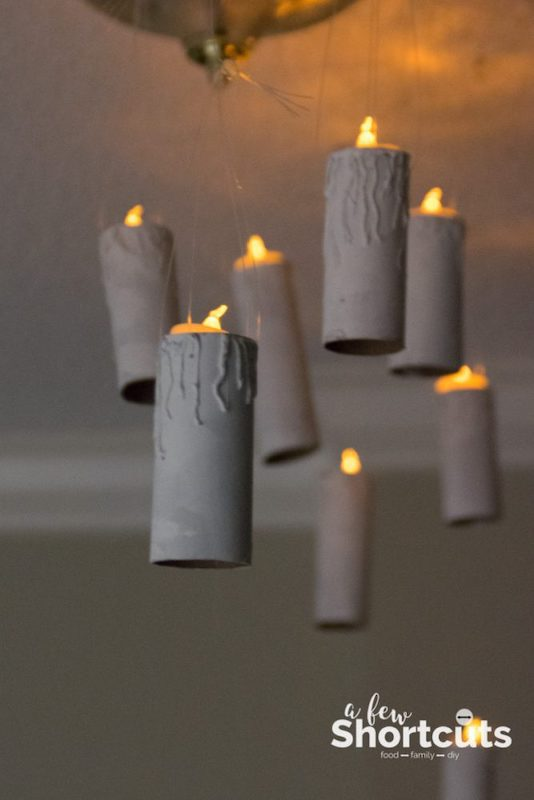 Harry Potter floating candles
