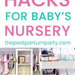 ikea nursery hacks