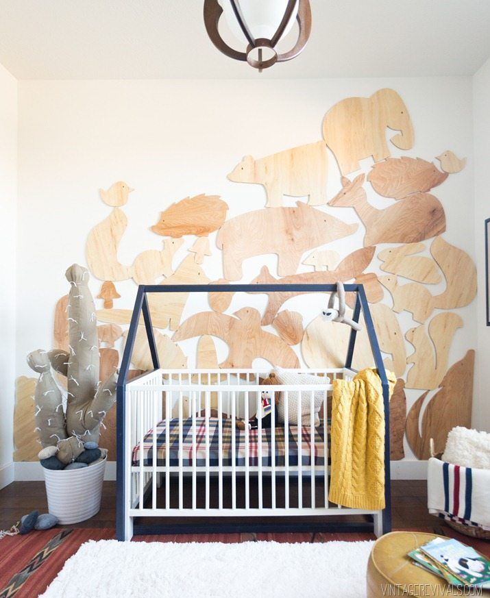 IKEA nursery hack for tiny crib