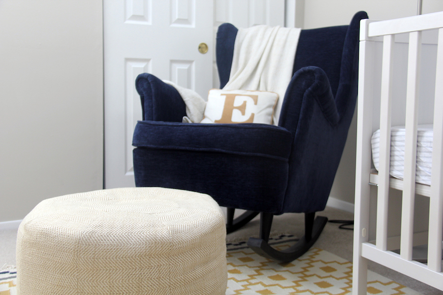 ikea nursery hack rocking chair