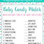 candy bar match free printable pin image