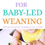 high chair for baby led weaning