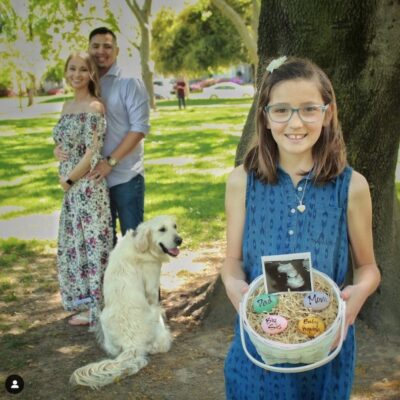 18 Adorable Spring & Easter Pregnancy Announcements