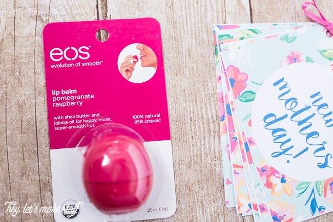 lip balm for new mom gift basket