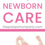 newborn hacks pin image