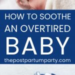 overtired baby pin image
