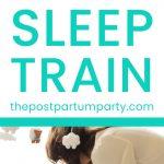 sleep training methods pin image