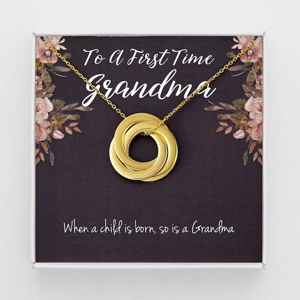 first time grandma necklace