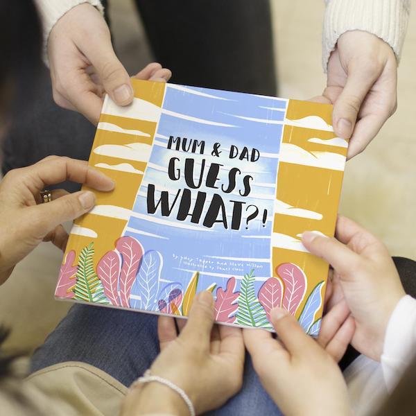 grandparent book to announce pregnancy to grandparents