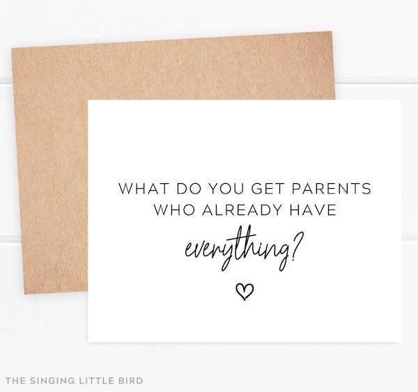 greeting card to announce new grandparents