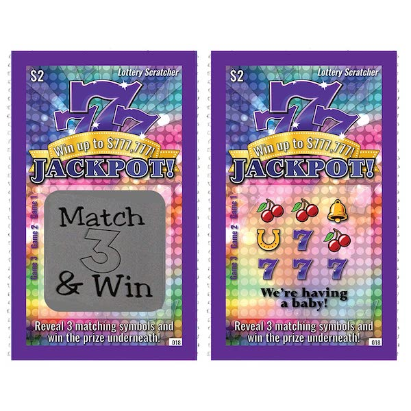lottery scratchers to announce pregnancy to family in person