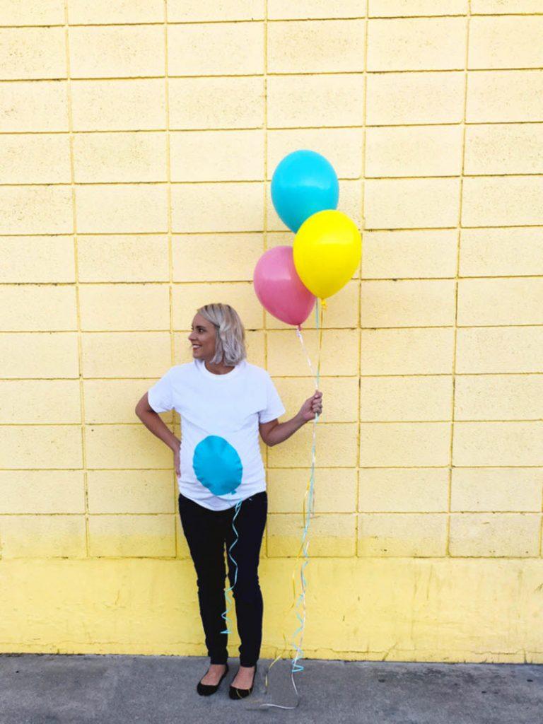 balloon maternity Halloween costume