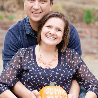 Easy Pumpkin Pregnancy Announcement