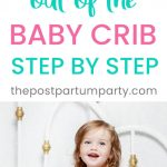transition to toddler bed pin image