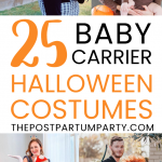 baby carrier costumes pin image