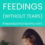 how to wean night feeds pin image