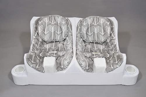 Table for two feeding system - item for twin baby registry